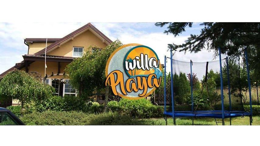 Willa Playa - dom Tupadły koło Jastrzębia Góra - Władysławowo - Casa
