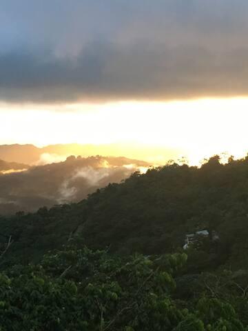 Paraíso en las montañas