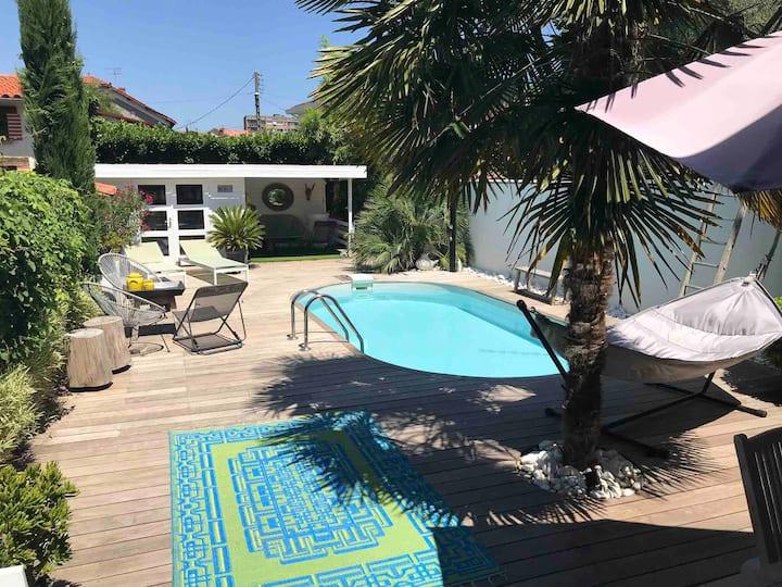 Albi, Maison centre ville, piscine privée