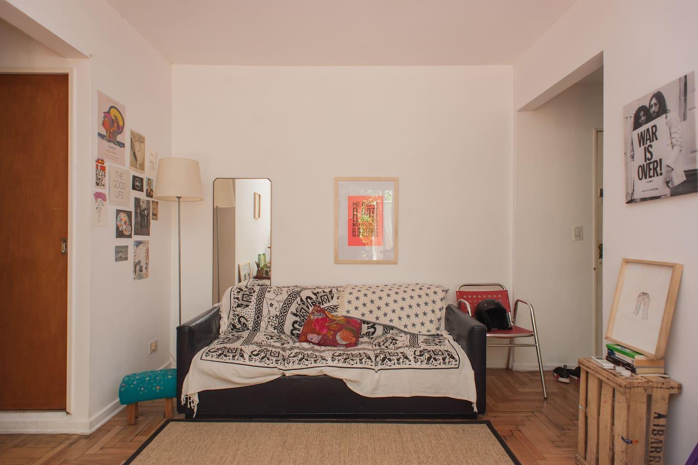 Private room in Palermo/Recoleta.