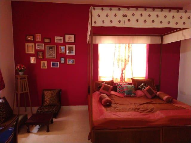 Tickled Pink! (Bedroom 1)