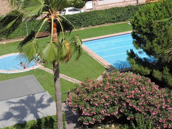 NICE APARTMENT JUST 600 METERS FROM THE SEA