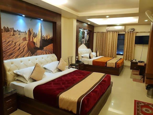 Deluxe Family Rooms At Rajpur Dehradun