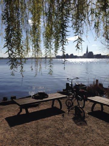 ländlich, ruhig, ökologisch - Rostock - Apartament