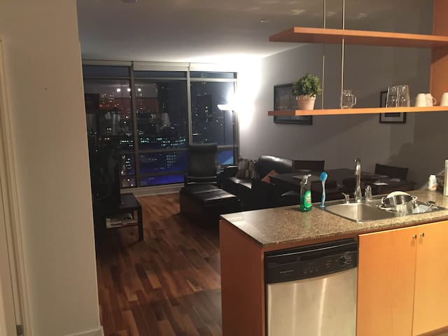 1 Bedroom Apartment Downtown