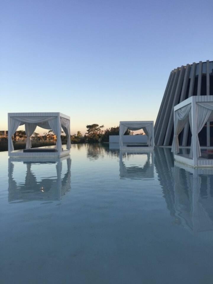 Dpto c/ terraza, vista al lago y amenities premium