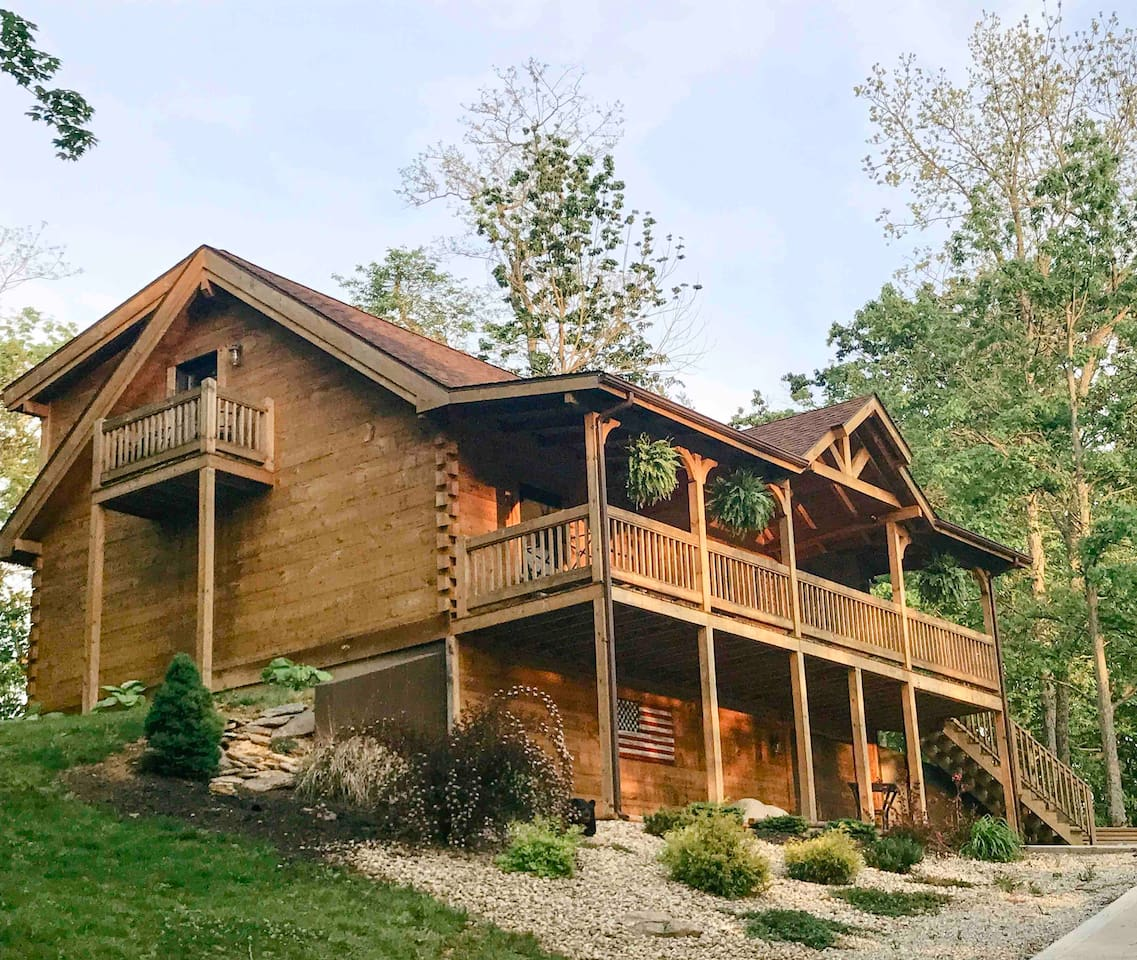 """Awesome place. If you are interested in staying at a beautiful, clean and unique cabin nestled into a quiet country setting, this is a great option. Matt was a wonderful host with great communication!"""