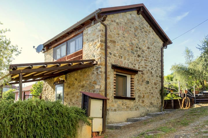 small and charming residence nestled in the hills surrounding La Spezia