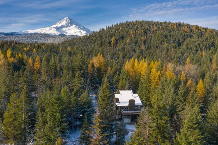 The Tilly Jane Cabin on Cooper Spur Mt Hood, OR.