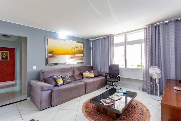 Wi-fi! Suite + 2 qtos e o melhor local de Brasília