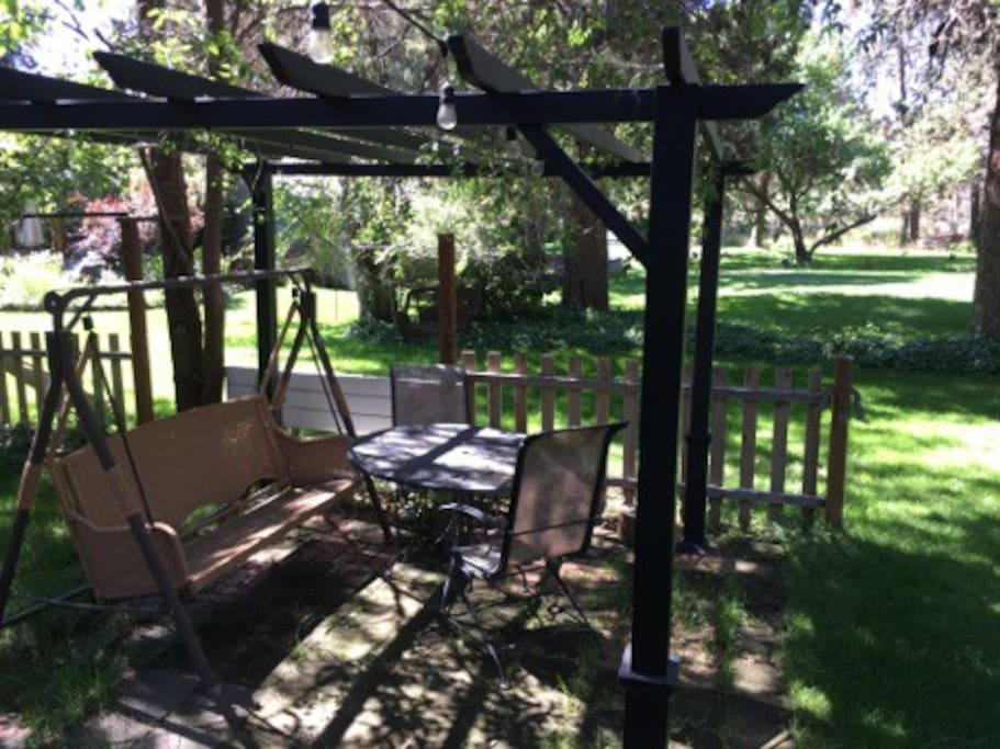 Guest Cabin Patio