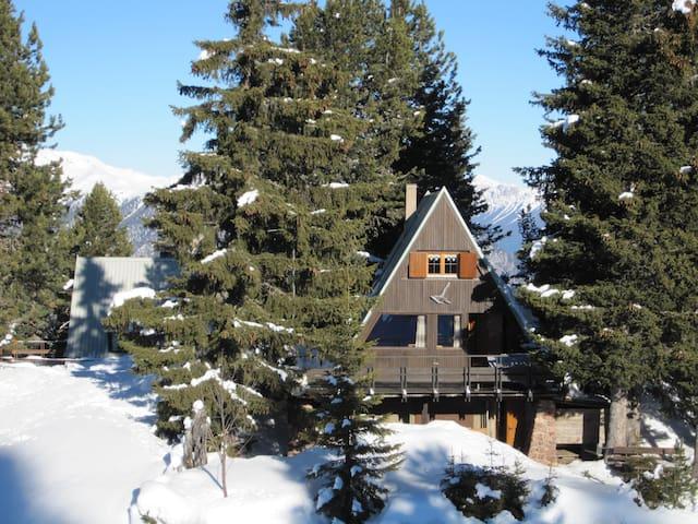 Chalet del Lago - directly on the ski slopes