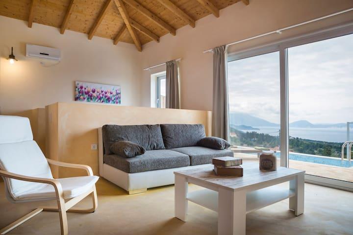 Magganos Sunset Villas  - Villa Eos - Fiskardo - Villa
