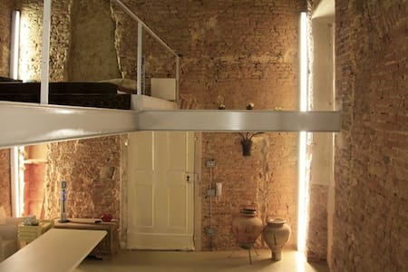 Wonderful loft in the city center - Bologna - Loftlakás