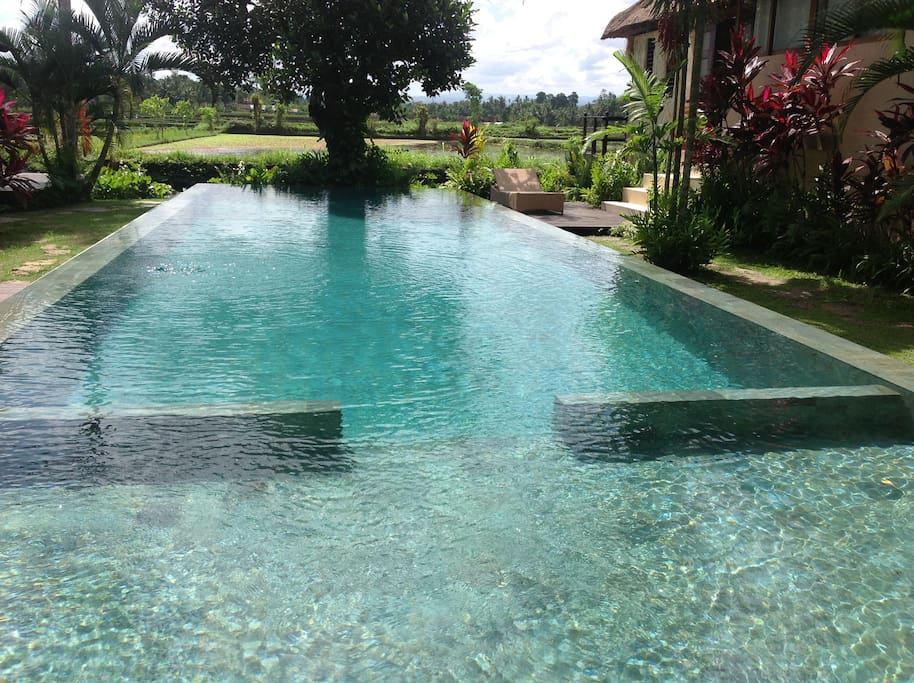 Pool only 3 metres from your front door