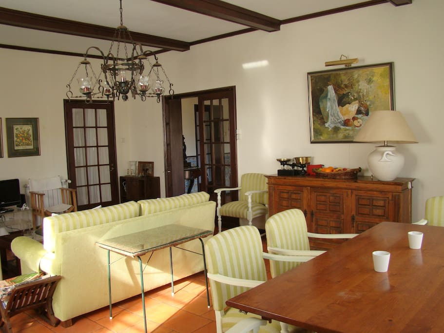 Living and dinning room