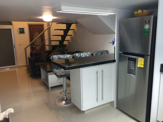 Loft with all amenities, secured, 1