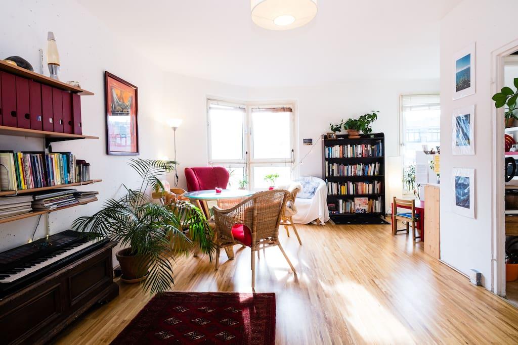 living room towards Leipziger Platz