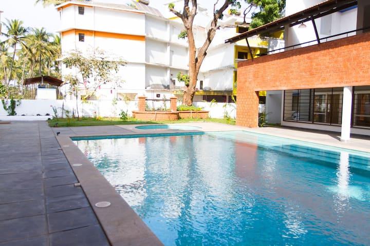 Comfort in Goa's Midst (2BHK Apt. )