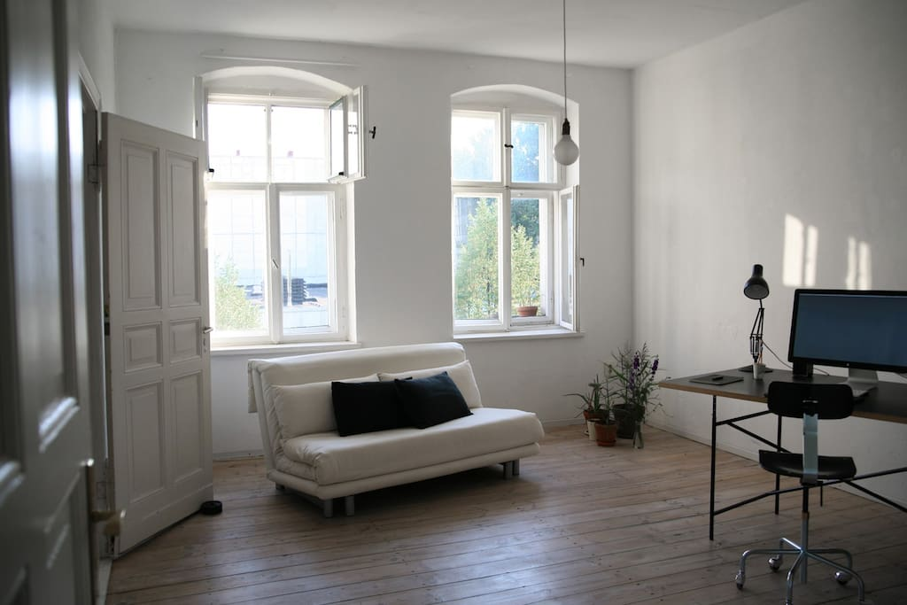 Living room - view from corridor