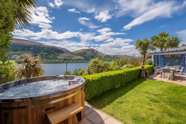 Sunny Lakeview Villa | Hot Tub | Outdoor living