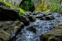 Troodos waterfall