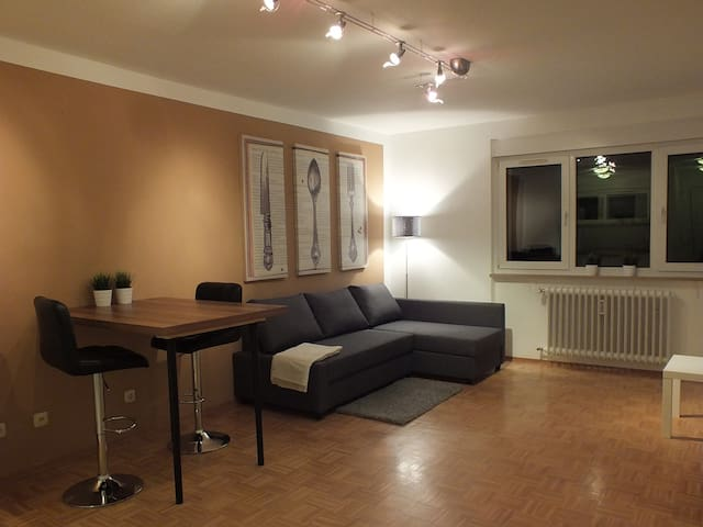 Neu renovierte FEWO mit Balkon - Trier - Lägenhet