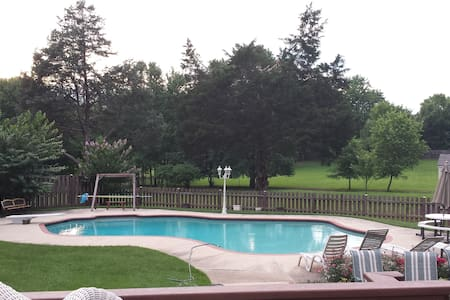5BR house with in-Ground pool - Herndon - Casa