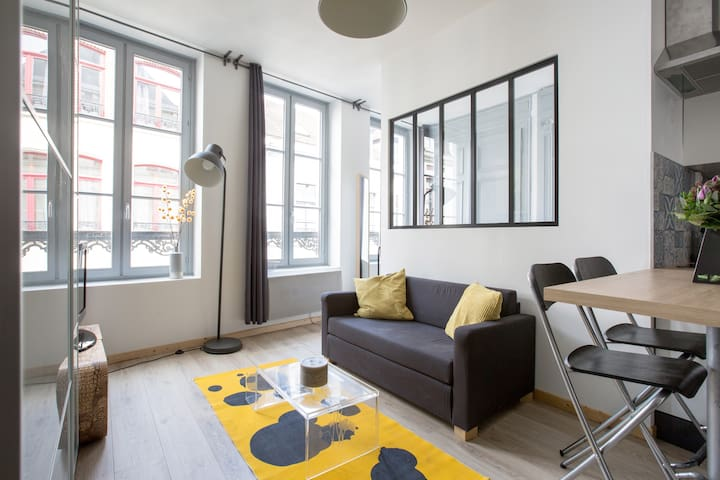 Charmant appartement au coeur du Vieux Lille