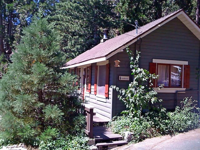 1930s Cozy One-Bedroom Lake Arrowhead Cabin! - Rimforest - Rumah