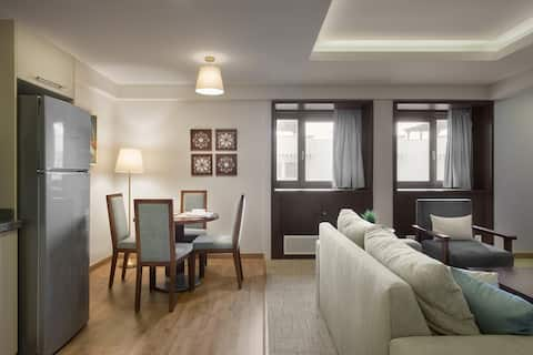 Lemon Spaces Iconic 1BR At The Heart Of Zamalek