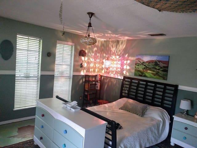 BOHO room +balcony #CrashPadDallas @Bishop Arts