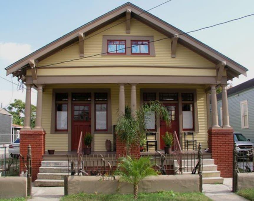 maison de lune noire reopened maisons louer la nouvelle orl ans louisiane tats unis. Black Bedroom Furniture Sets. Home Design Ideas