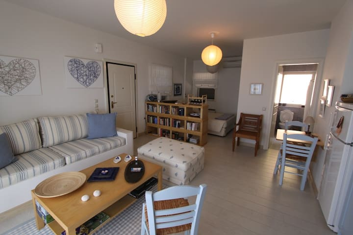 Unique Beach Apt 1 in Glyfada-Corfu - Korfu - Apartament