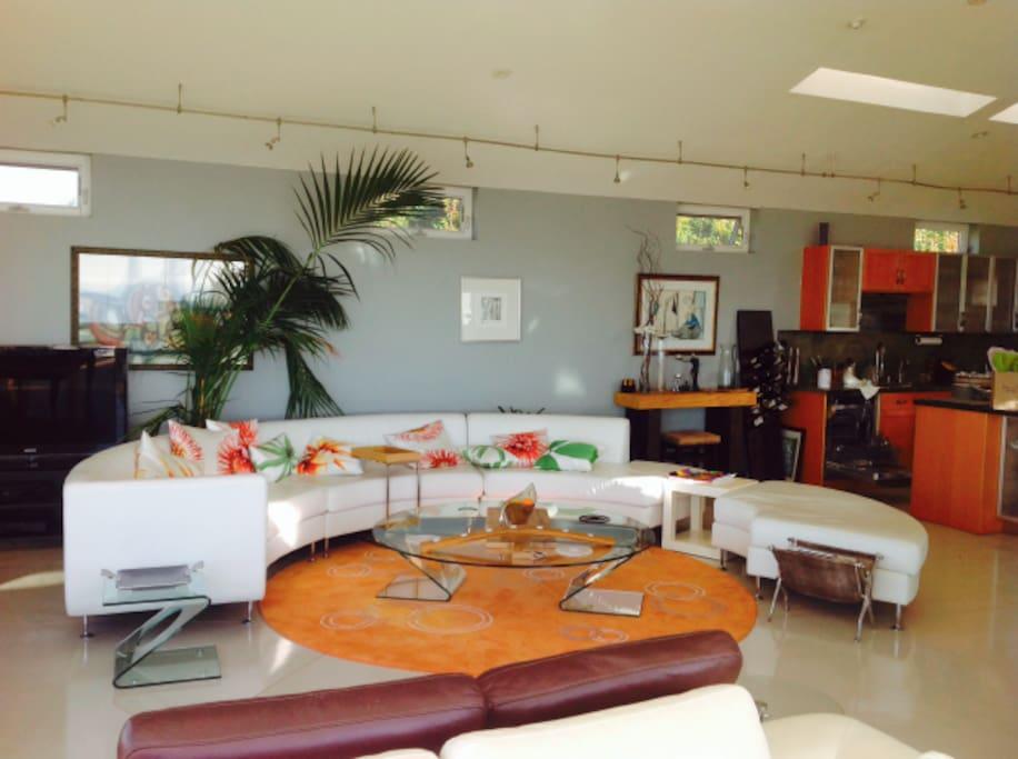 Upstairs Lounge Area.