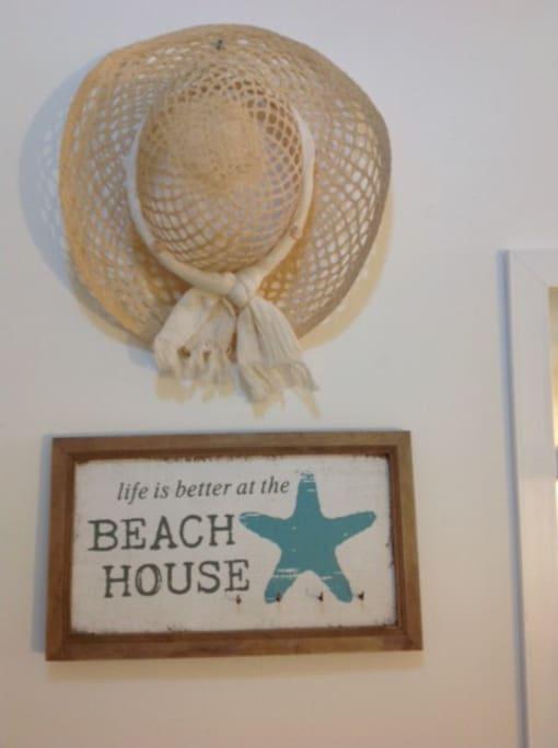 Es como tu casa de playa