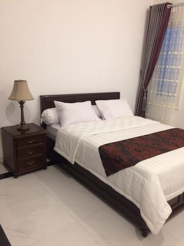 Bedroom 4 (Double bed), AC, Available space for Additional Extra bed