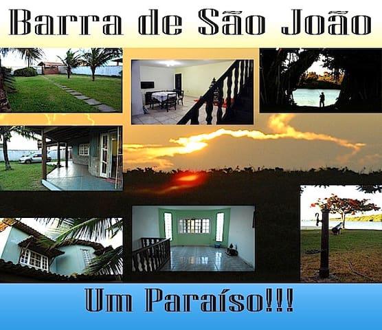 Um paraíso perto tudo - Barra de São João - House