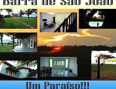 Um paraíso perto tudo - Barra de São João