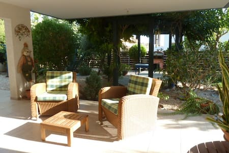 Relax on the hills around Limassol near the town - Limassol - House