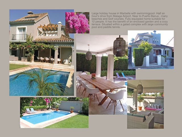 Large Family house in Marbella  - Marbella - Haus