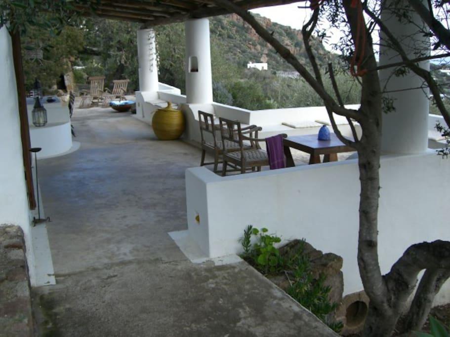 la terrazza principale