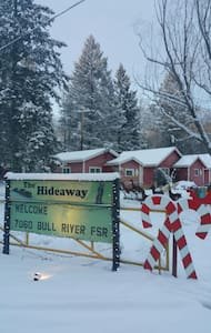 Forest Hideaway B&B -  Bungalow #1 - Galloway - Cabane