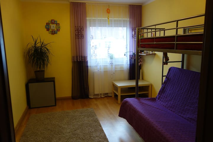 Simple but nice private room in Erding centre