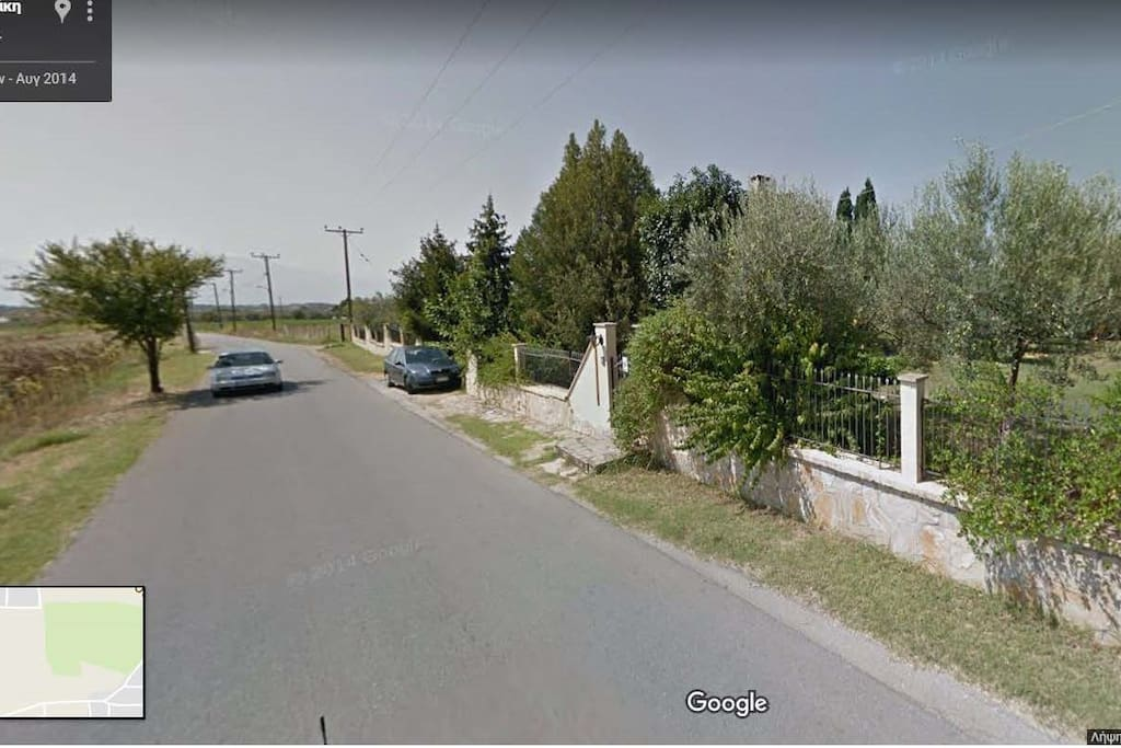 view from google streetviewer