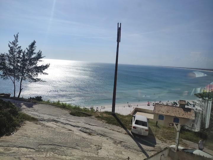 """Triplex 06 Linda vista Praia Grande """"Pé na areia"""""""