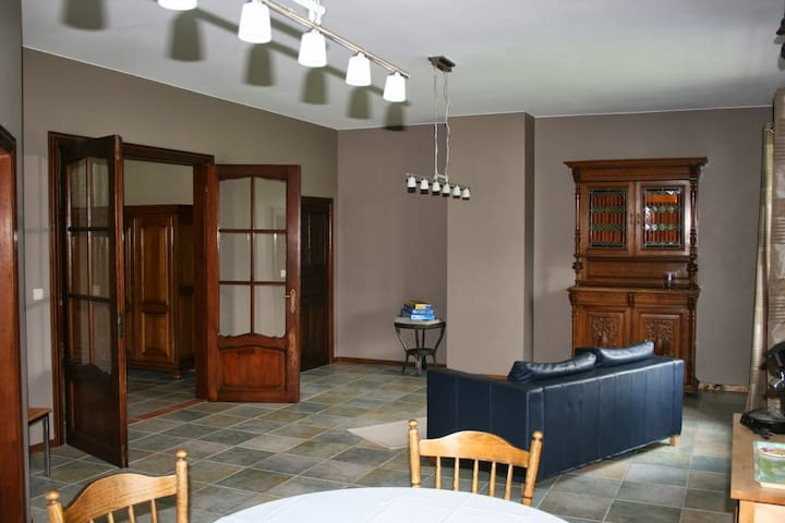 The living/dining and additional sleeping room