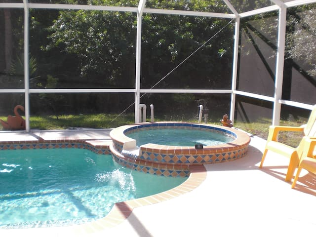 private bedr/bath with use of pool  - Port Charlotte