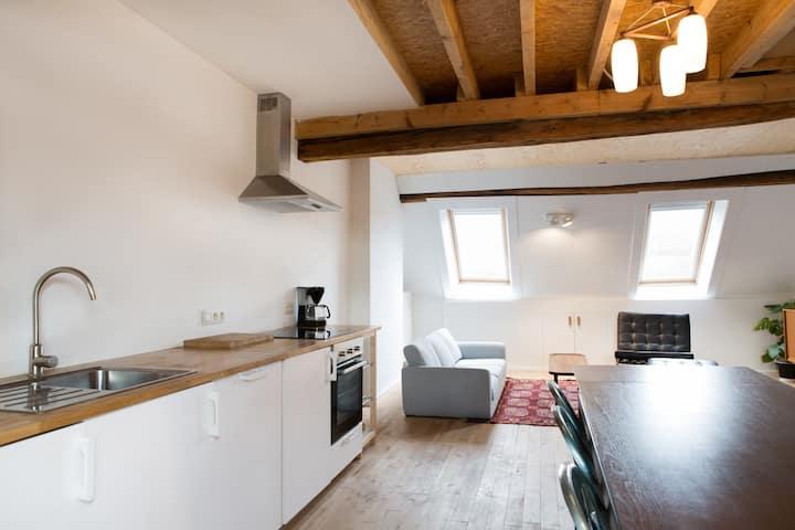 Duplex chaleureux - maison historique de Liège