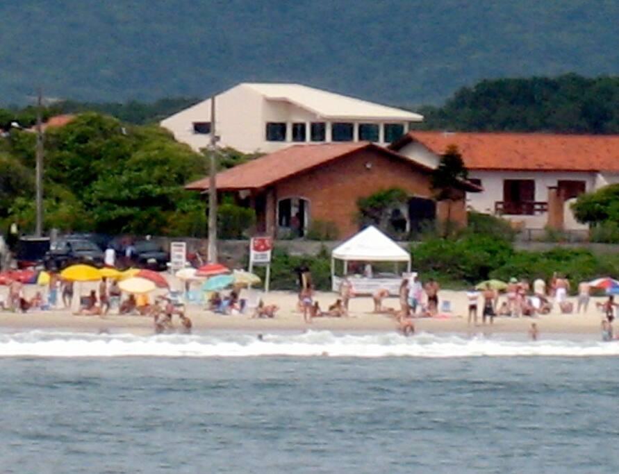 Villa from the Ocean.
